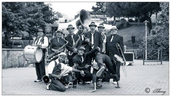 ZYGOS brass band en concert au ptit cab